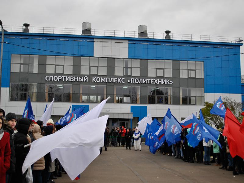 В СПбПУ после реконструкции открылся спорткомплекс