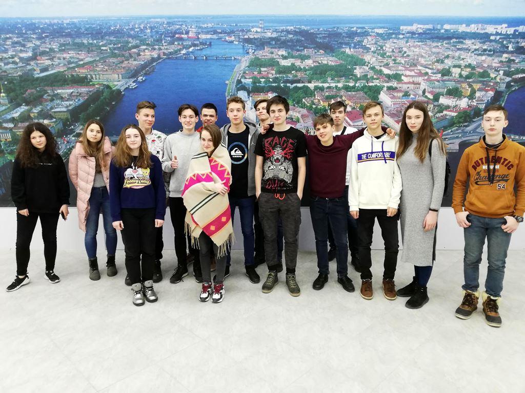 Делегация старшеклассников из Челябинска