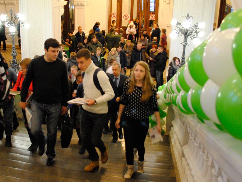 День открытых дверей Политехнического университета.
