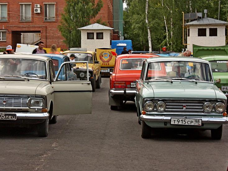 Автомобильный ретро-фестиваль «День Москвича 2017»