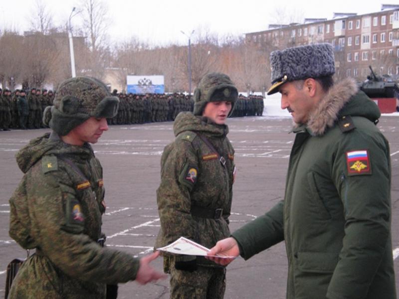 Военная служба по призыву в научной роте на территории Санкт-Петербурга