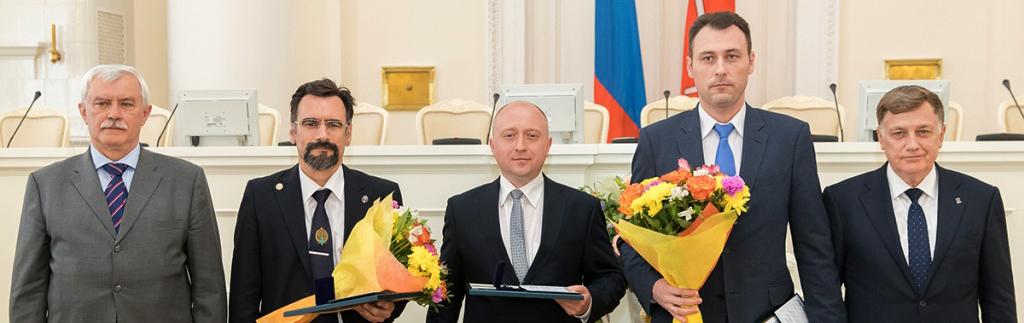 Лауреаты премии Правительства СПб